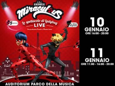 Lo spettacolo Miraculous arriva Live a Roma